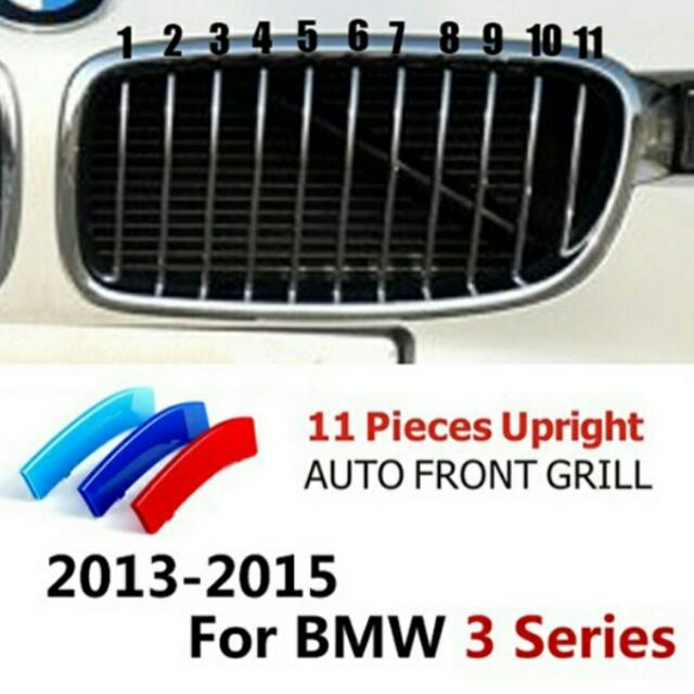 Bmw F30 Grill Stripe Car Accessories On Carousell