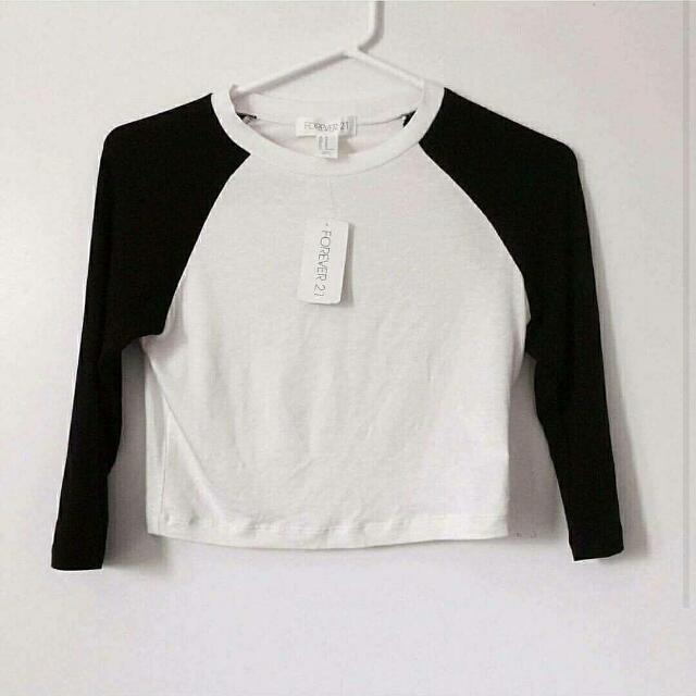 BRAND NEW CROP TOP WITH TAGS