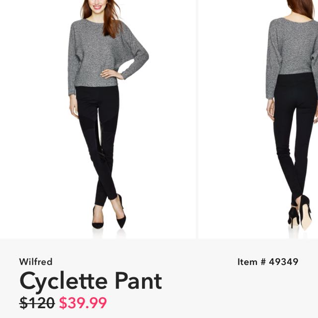 Brand New Wilfred Cyclette Pant