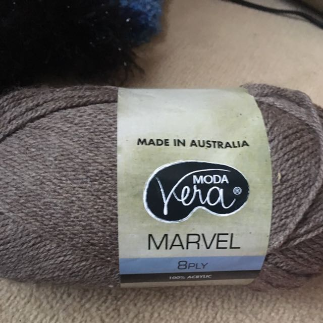 Brown Marvel Knitting Yarn