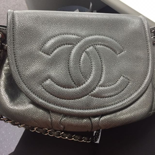 Chanel Shoulder And Cross-body Bag
