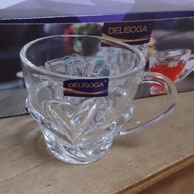 (六個)Delisoga 威士忌酒杯