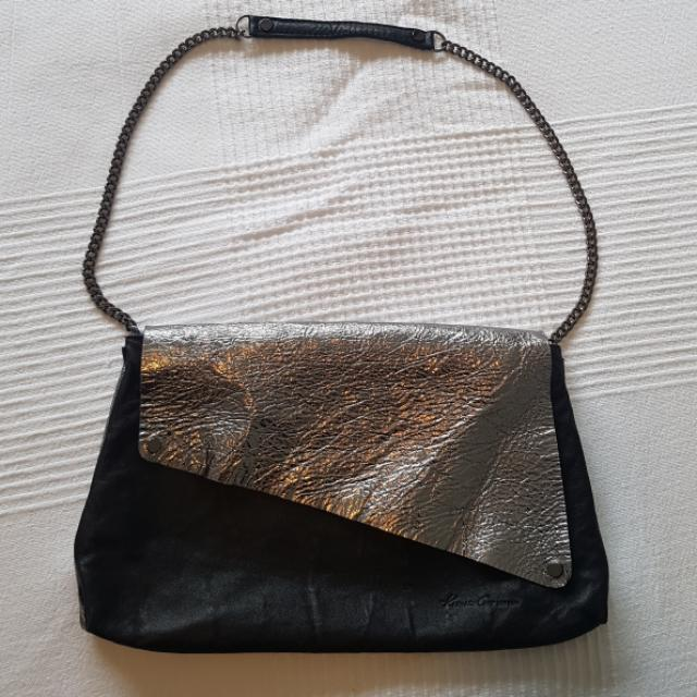Kenneth Cole Designer Soft Leather Evening Bag