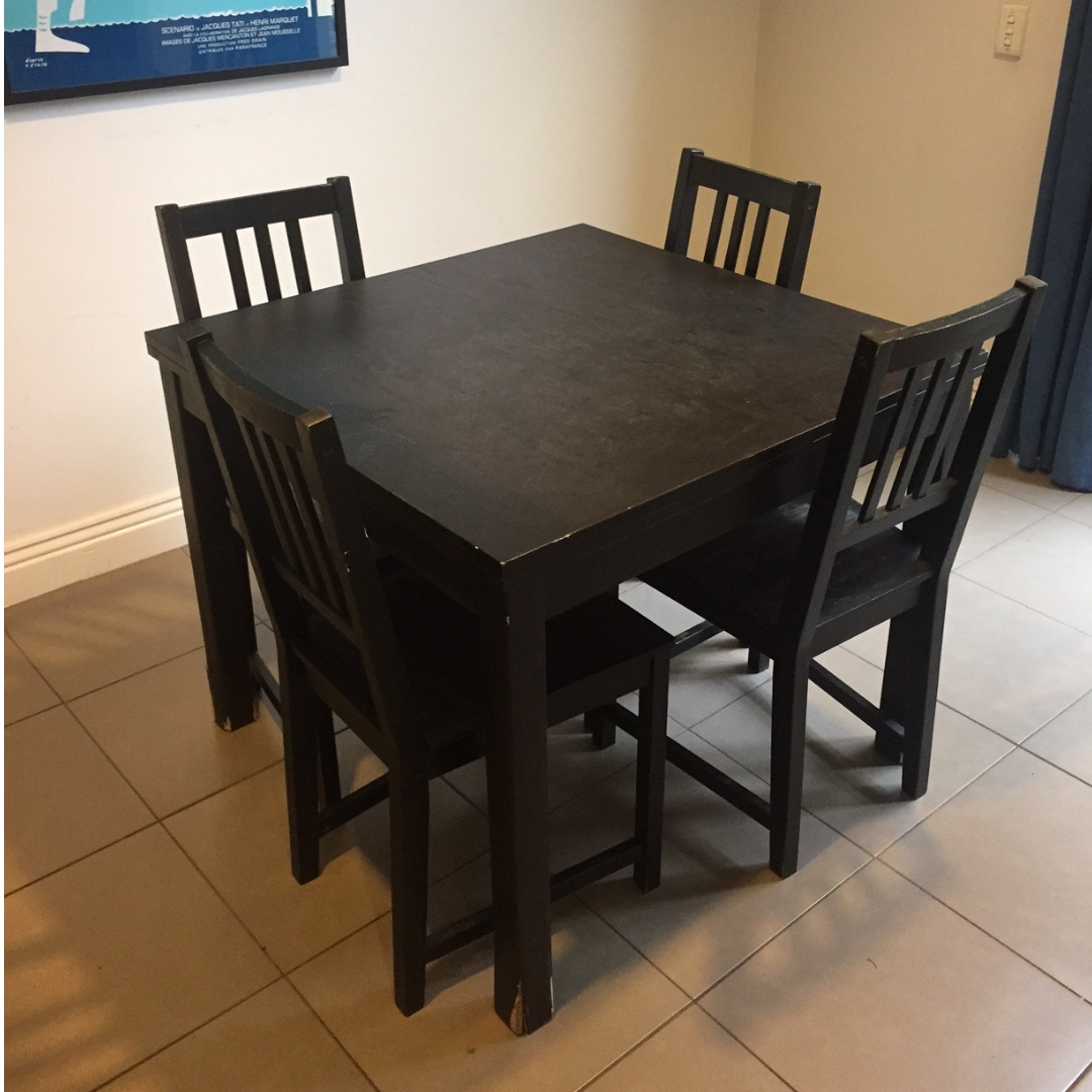 Dining Table and 4 x Chairs