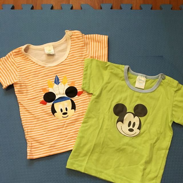 Disney Baby Tshirts For 3-6mos