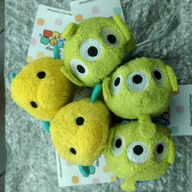 Disney Tsum Tsum Toy Story Alien/Mermaid Flounder