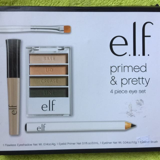 ELF Primed And Pretty 4 Pcs Eye Set