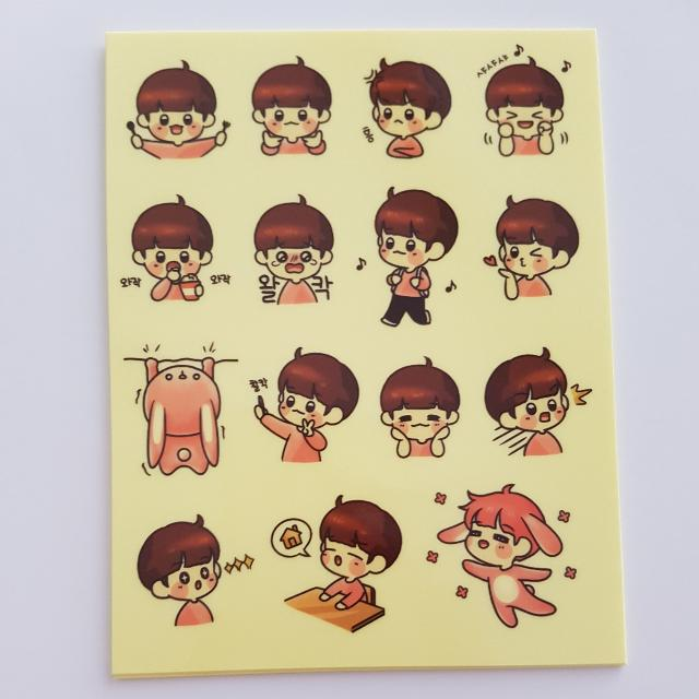 Exo Sticker Sheet