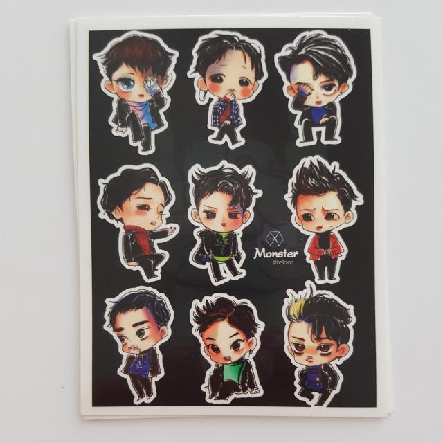 Exo Sticker Sheet