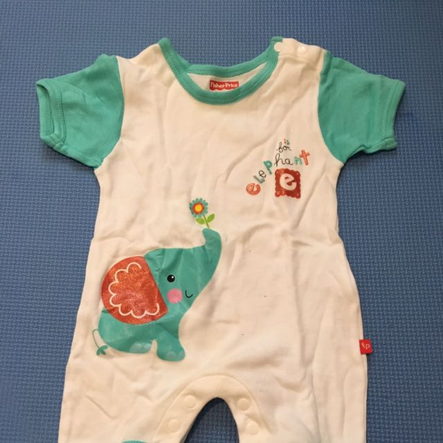 Fisher-Price Onsie For 0-3mos