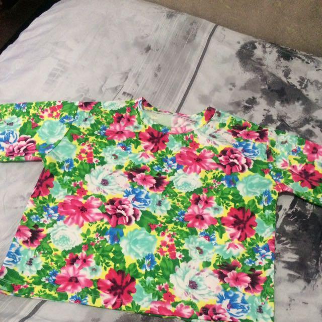 Floral Hanging Shirt