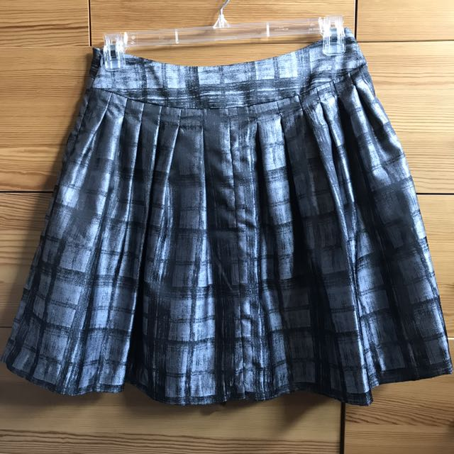 Forever 21 Foil Skirt Size Large