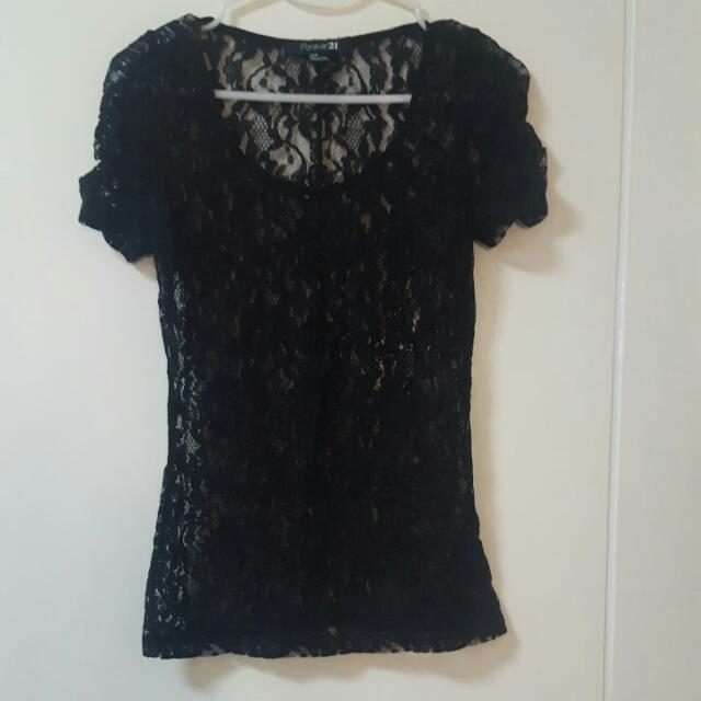Forever 21 Lacey Top