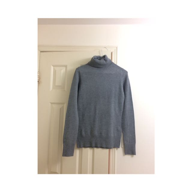 French Connection Grey Turtleneck