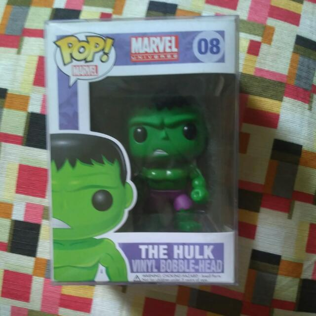 Funko Pop Marvel Hulk 08