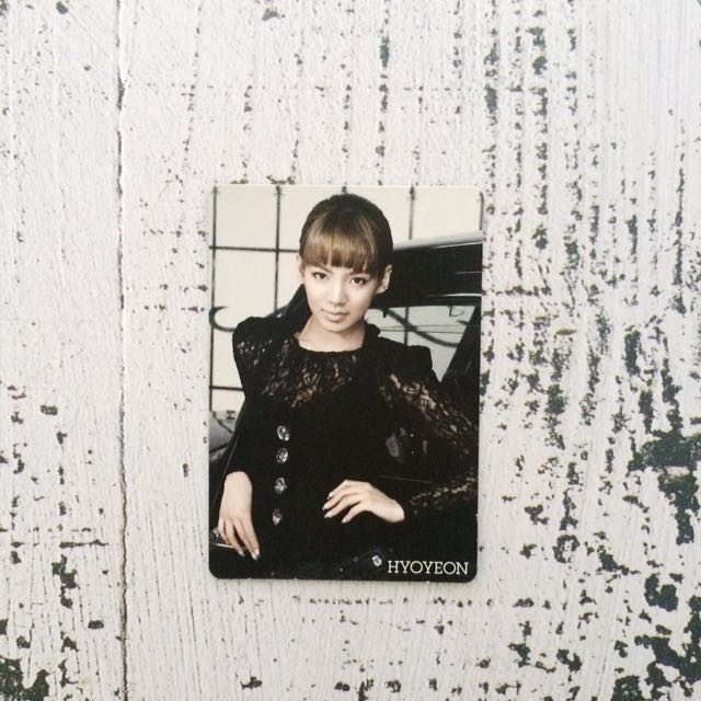 Girls' Generation Hyoyeon Photocard