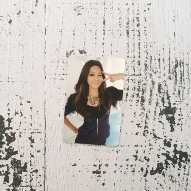 Girls' Generation Sooyoung Photocard