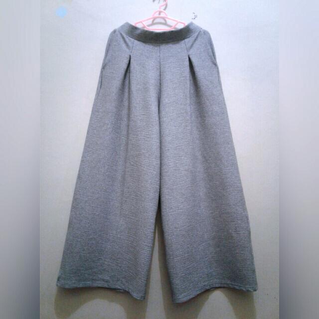 REPRICE! Grey Cullote Pants