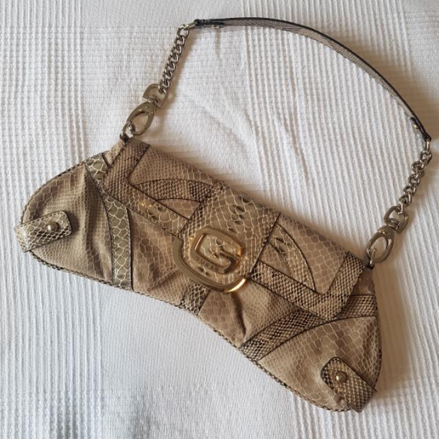 Guess Snakeskin Evening Bag