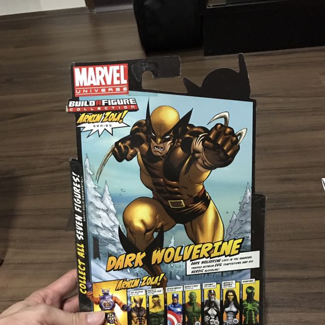 Hasbro Marvel Legends Dark Wolverine MISB