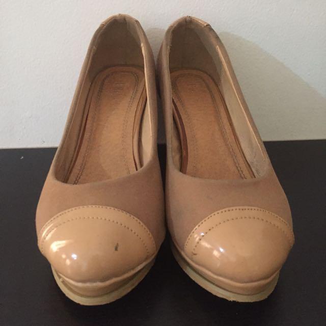 REPRICE Heels Brown / Coklat