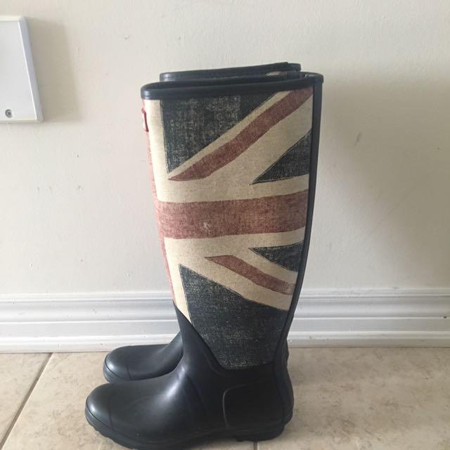 Hunter Boots Union Jack