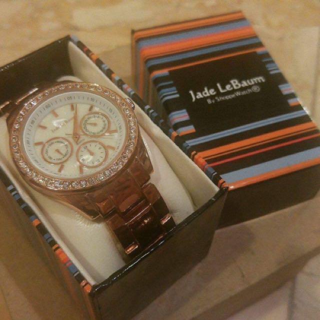 Jade Le Baum Rose Gold Watch