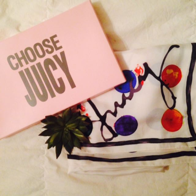 JUICY Couture Silk Scarf