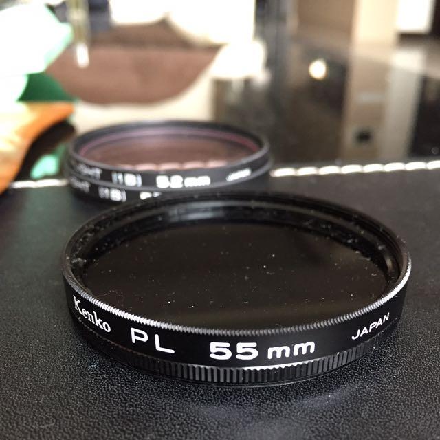 Kenko PL 55mm 可調偏光保護鏡