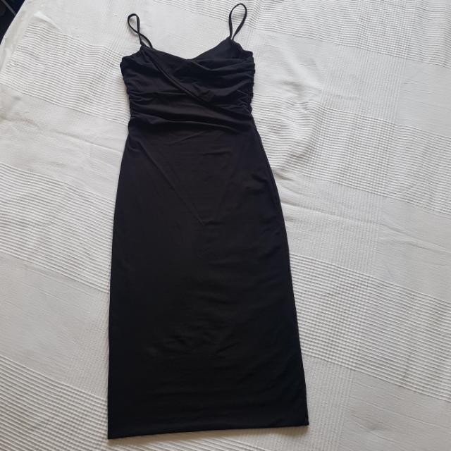 Kookai LBD Strappy Midi Dress