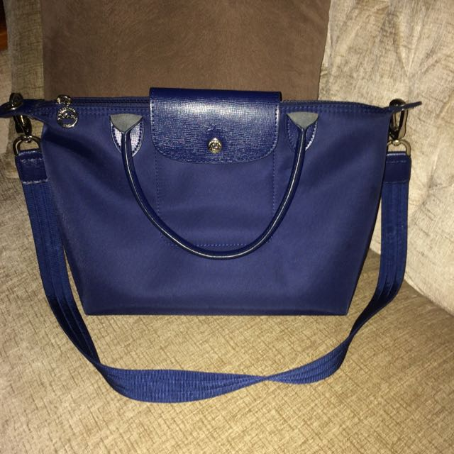 Longchamp Grade Minor (navy Blue)