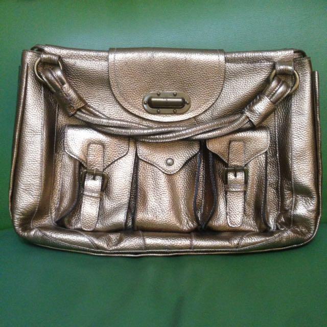 Luella Gold Bag Second ORI 100%