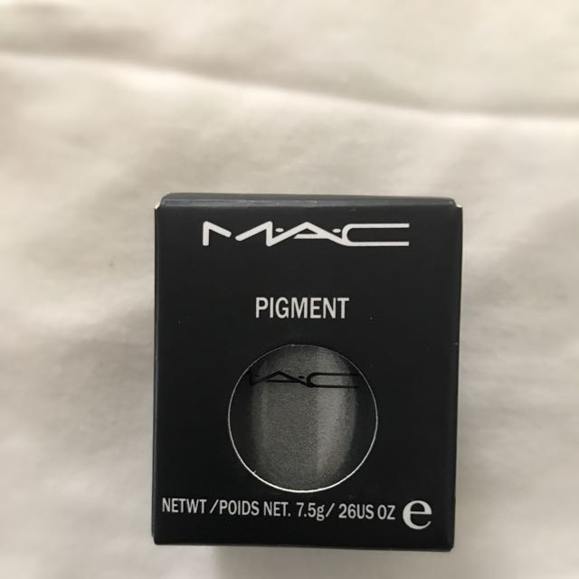 Mac Pigment In Silver Ring Color