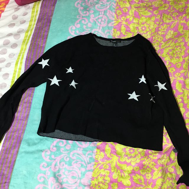 Mango Cropped Sweater