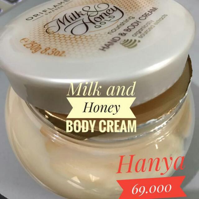 Milk And Honey Body Cream