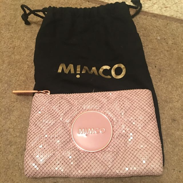 Mimco Small Mesh Pouch