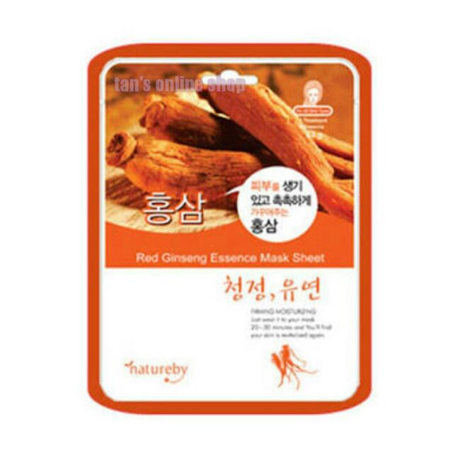 Natureby Red Ginseng Facial Mask