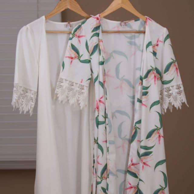 New 100% Silk Women's Robe