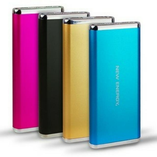 NEW ENERGY 能量寶盒 6000mAh行動電源 雙USB輸出孔 黑色款 #你喜歡我送你