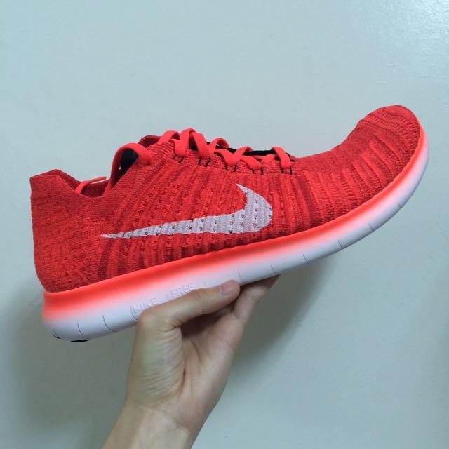 Nike Free 4.0 螢光橘