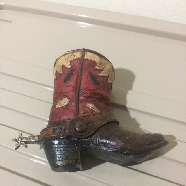 Pajangan Boots dari Texas