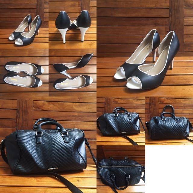 Paket A ( Mango Bag & Gioretti Heels)