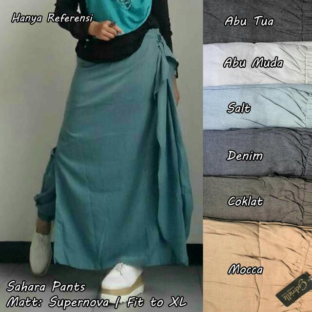 Pants Skirt/rok Celana