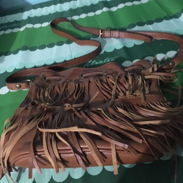 Patricia Nash Italian Leather Boho Bag