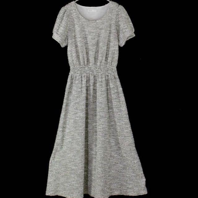 【PAZZO】長版針織洋裝 S