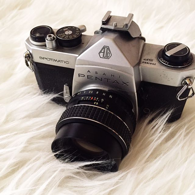 Pentax Spotmatic With 50mm F/1.8 Lens
