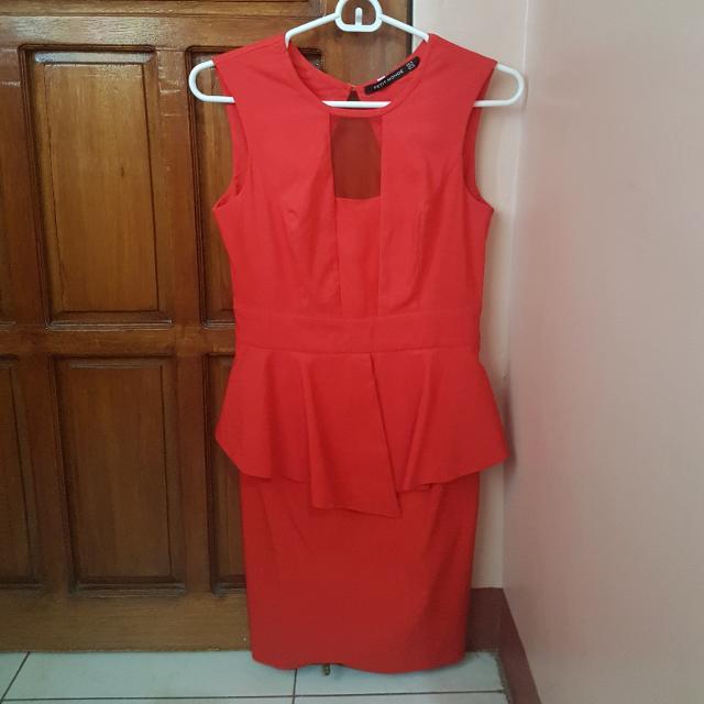 Petit Monde Red Dress