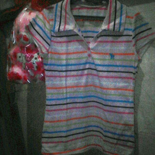 Pink stripe blouse