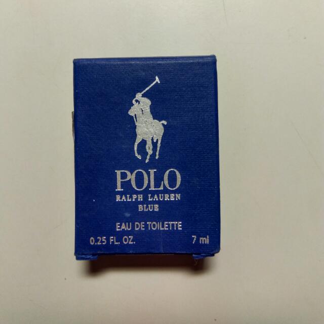 清櫃打折出清/POLO香水藍瓶7ml