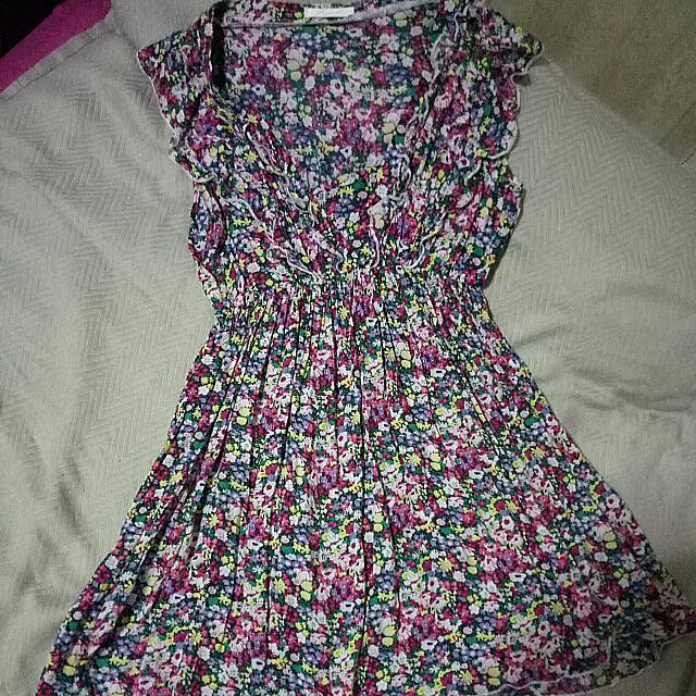 PRELOVED - Magnolia Flower Dress